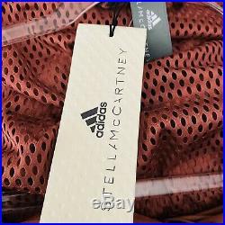 Stella McCartney X Adidas Womens Size Large Run Ult Jacket Clay Red Windbreaker