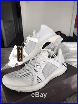 Stella Mccartney Adidas White Ultra Boost BNWB Size 7