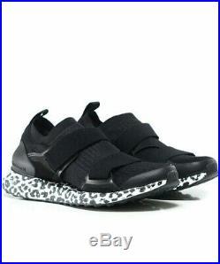 Stella Mccartney X Adidas Ultraboost Black trainers 7 Sneakers Flyknit NWOB