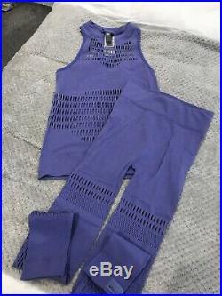 Stella mccartney Adidas Lilac Purple Set Size M Nwt